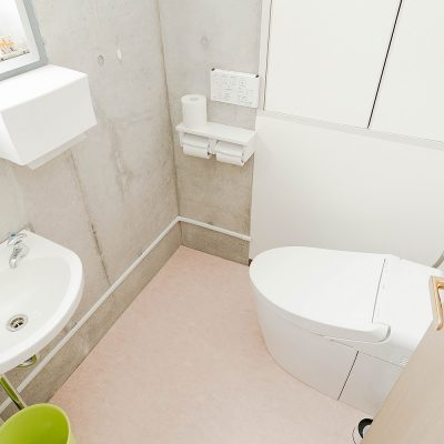 Leap8(リープエイト)宇都宮市戸祭町オフィスの設備・サービス:女性用トイレ