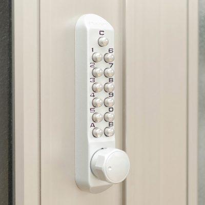 Leap8(リープエイト)宇都宮市戸祭町オフィスの設備・サービス:暗証番号の施錠