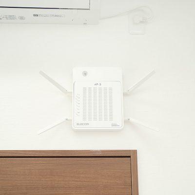 Leap8(リープエイト)宇都宮市戸祭町オフィスの設備・サービス:共有Wi-Fi