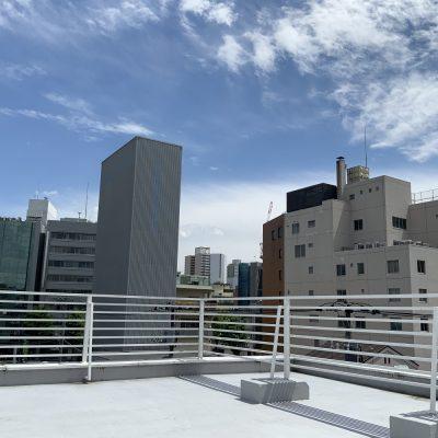 Leap8(リープエイト)宇都宮市大通りオフィスの設備・サービス:屋上からJR宇都宮駅方面の景観